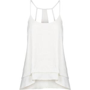 RAINBOW Top-blouse blanc sans manches femme - bonprix