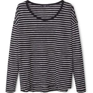 MANGO T-Shirt Mit Ärmelumschlag