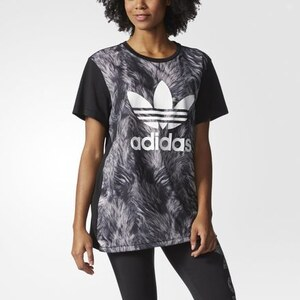 adidas T-shirt Fur-Print Logo