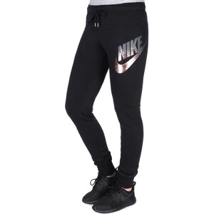 Nike Rally Tight Metallic W Jogginghose black