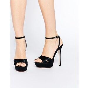 ASOS - HIDDEN VALLEY - Chaussures à semelle plateforme - Noir
