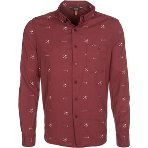 Neuw denim GOLDFIELDS Hemd red/tan