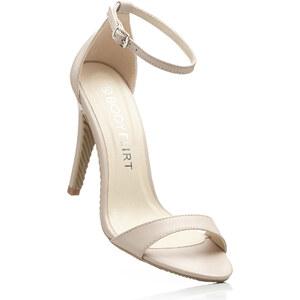 BODYFLIRT Sandales beige chaussures & accessoires - bonprix