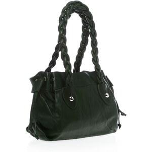 Bague à part Handtasche - aus grünem Leder