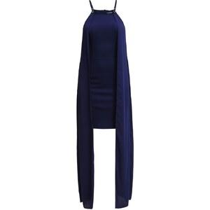 Miss Selfridge Robe longue navyblue