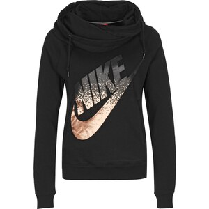 Nike Rally Funnel-Metallic W Hoodie black
