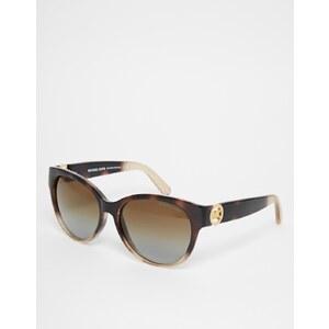 Michael Kors - Runde Sonnenbrille mit Farbverlauf - Schildpatt