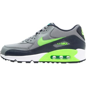 Nike Sportswear AIR MAX 90 Sneaker low cool grey/voltage green/obsidian/lucid green