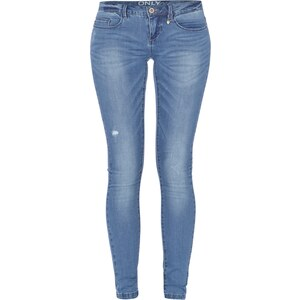 ONLY Skinny Fit Jeans mit Super Low Rise