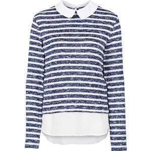 BODYFLIRT Pullover in blau für Damen von bonprix