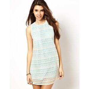 Jarlo Tara Lace Dress with Contrast Lining