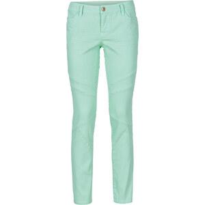 RAINBOW Pantalon extensible skinny vert femme - bonprix