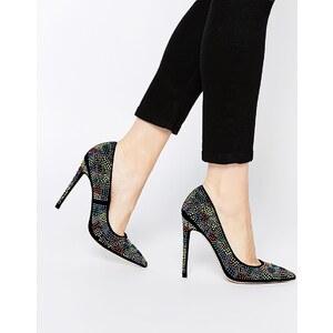 ASOS - PARAMOUNT - Chaussures pointues et cloutées - Noir
