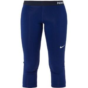 Nike Performance PRO DRY 3/4 Sporthose deep royal blue/white