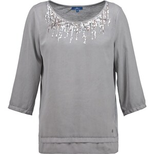 TOM TAILOR Bluse smooth grey