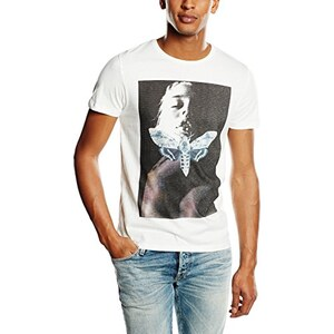 JACK & JONES Herren T-Shirt JJORBABE TEE SS CREW NECK