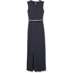MANGO Langes Kleid Mit Gürtel
