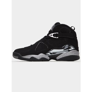 Air Jordan 8 Retro 'Chrome' Black white light graphite