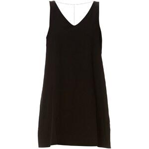 DDP Kleid mit fließendem Schnitt - schwarz