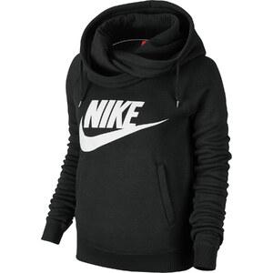 Nike Rally Funnel Neck W Hoodie black/white