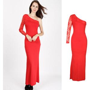 Lesara Abendkleid im One-Shoulder-Design - M