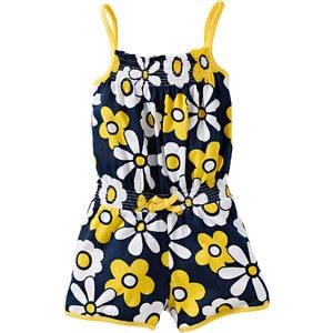 bpc bonprix collection Combishort jaune sans manches enfant - bonprix