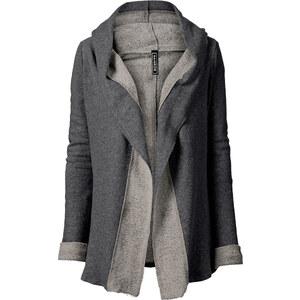 RAINBOW Gilet matière T-shirt gris femme - bonprix