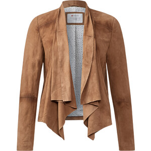 Street One - Veste ouverte daim Zora - nougat brown