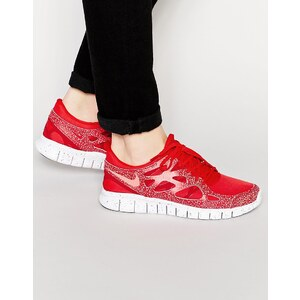Nike - Free Run 2 Prm - Sneakers, 806254-616 - Rot