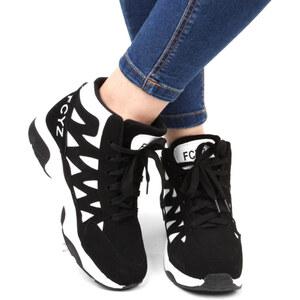 Lesara High-Top-Sneaker FCYZ - 37