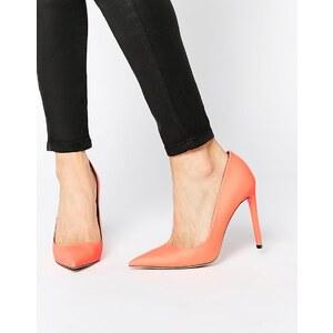 ASOS - PLATINUM - Chaussures pointues à talons - Orange