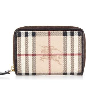 BURBERRY BURLEIGH Brieftasche aus Logo Gedrucktem Stoff Herbst/Winter