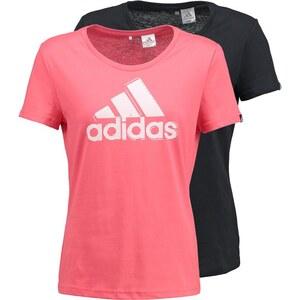 adidas Performance 2 PACK TShirt print super blush/black