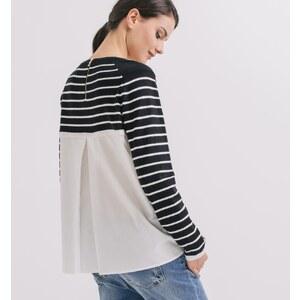 Promod Pullover aus Materialmix
