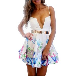 Chic Dresses Robe courte - blanc