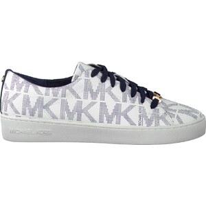 Weiße Michael Kors Sneaker KEATON LACE UP