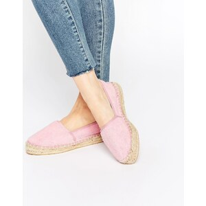 ASOS - JELLY BEAN - Frottee-Espadrilles - Rosa