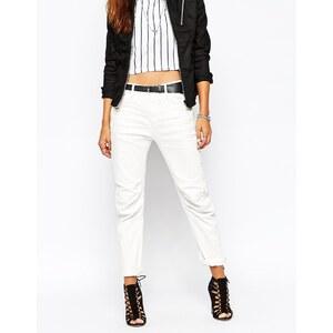 G-Star - 5620 3D - Tief sitzende Boyfriend-Jeans - Weiß