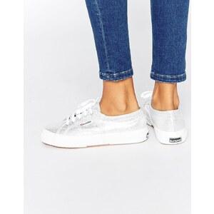 Superga - 2750 - Klassische, silberne Sneakers - Silber