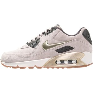 Nike Sportswear AIR MAX 90 PREMIUM Sneaker low string/metallic gold green/dark storm/sail