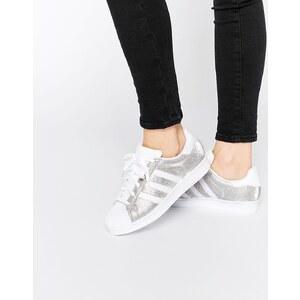 adidas Originals - Superstar - Sneakers in Silber-Metallic - Silber