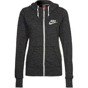 Nike Sportswear GYM VINTAGE Sweatjacke black/sail