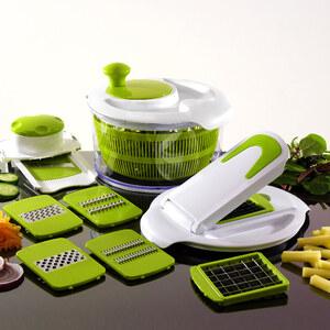 Lesara Salatschleuder & Gemüseschneider All-In-One