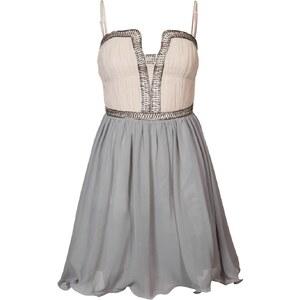 Little Mistress Cocktailkleid / festliches Kleid pink/grey