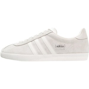 adidas Originals GAZELLE Sneaker low offwhite/silver metallic