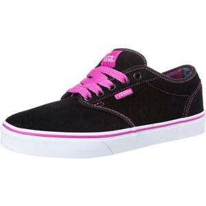Vans ATWOOD Sneaker black/fuchsia