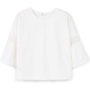 MANGO Kurzärmeliges Baumwoll-Sweatshirt