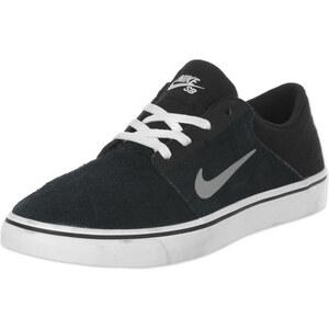 Nike Sb Portmore Sneakers Sneaker black/mdm grey