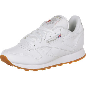 Reebok Cl Leather W chaussures white/gum