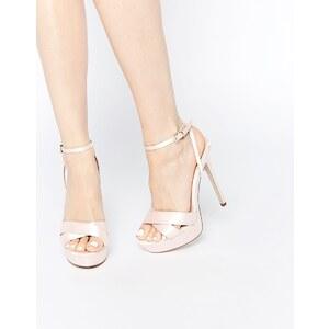 ASOS - HIDDEN VALLEY - Chaussures à semelle plateforme - Beige